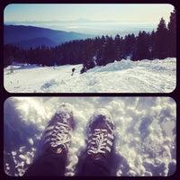 Photo taken at Seymour Mountain by Jenny V. on 12/16/2012