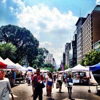 Photo taken at Union Square Greenmarket by Jennifer Y. on 7/19/2013