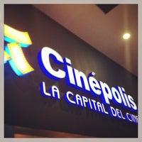 Photo taken at Cinépolis Multicentro by Hazel C. on 12/22/2012