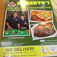Photo taken at Roberto's Mexican Food by Dan B. on 8/18/2013