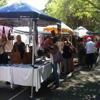 Photo taken at Glebe Markets by May L. on 3/16/2013