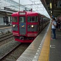 Photo taken at しなの鉄道 上田駅 by Kenya J. on 7/9/2016