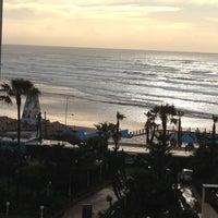 Photo taken at La Corniche de Casablanca by Gintarė A. on 4/3/2013