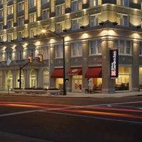 Photo taken at King Edward Hotel (Hilton Garden Inn Jackson) by Brad on 3/9/2013