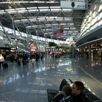Photo taken at Düsseldorf Airport (DUS) by Ayhan A. on 1/11/2013