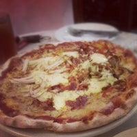 Photo taken at Puzzini Swedish Pizza by Apil on 9/30/2012