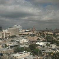 Photo taken at Hilton Garden Inn Austin Downtown/Convention Center by Pete H. on 10/20/2012