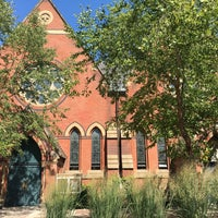 Photo taken at Sage Chapel by Angela W. on 9/5/2016