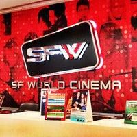 Photo taken at SF World Cinema by Salita S. on 3/1/2013