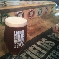 Photo taken at London Fields Brewery by Mike W. on 5/4/2013