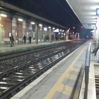 Photo taken at Stazione Giulianova by Alessandro S. on 4/19/2014