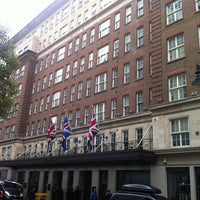 Photo taken at The May Fair Hotel by Daniel W. on 6/28/2013