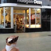 Photo taken at Haagen-Dazs Shop by Husein H. on 12/8/2012