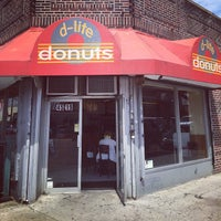 Photo taken at D-lite Donuts by Noah F. on 4/13/2015