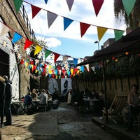 Photo taken at London Fields Brewery by Linda S. on 10/6/2012