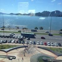 Photo taken at Mirantes Restaurante - JFSC by Luiz F. on 6/2/2014