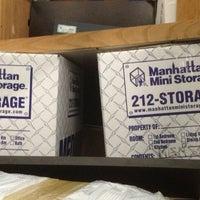 Photo taken at Manhattan Mini Storage by Johan S. on 3/14/2013