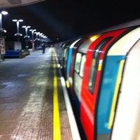 Photo taken at Kilburn London Underground Station by James Arthur C. on 1/15/2013