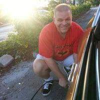 Photo taken at Mobil by Jacki S. on 10/6/2014