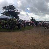 Photo taken at Hanalei Saturday Farmers Market by Almira V. on 4/19/2014