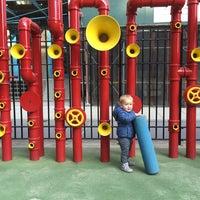 Photo taken at Imagination Playground at Burling Slip by Polina K. on 12/10/2015