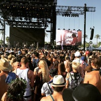 Photo taken at Coachella Main Stage by Roger C. on 4/12/2015