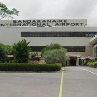 Photo taken at Bandaranaike Int'l Airport (CMB) by Saeed A. on 12/30/2012