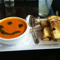 Photo taken at Jet Runway Cafe by Laura F. on 10/18/2012