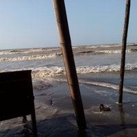 Photo taken at Pantai Alam Indah (PAI) Tegal by Aminudin A. on 8/5/2014