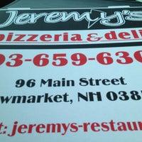 Photo taken at Jeremy's Pizzeria & Deli by Greg W. on 6/3/2013
