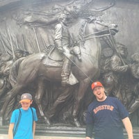 Photo taken at Robert Gould Shaw Memorial by Richard F. on 5/13/2016