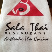 Photo taken at Sala Thai by Alexandra S. on 12/6/2013