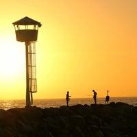 Photo taken at City Beach by OuDaJo O. on 2/1/2013