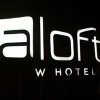 Photo taken at Aloft Minneapolis by Dan V. on 12/16/2012
