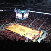 Photo taken at Pinnacle Bank Arena by Cindy J. on 11/13/2013