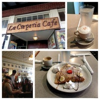 Photo taken at La Creperia Cafe by Nathan B. on 1/13/2013