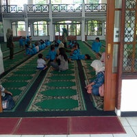 Photo taken at Masjid Imam Bonjol by Tia R. on 10/1/2013