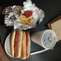 Photo taken at Papaya Dog by Bretton T. on 2/8/2013