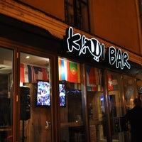 Photo taken at Kiwi Bar by Annie L. on 10/28/2012