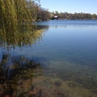 Photo taken at Jamaica Pond by Nathan K. on 5/1/2013