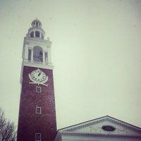 Photo taken at UVM Ira Allen Chapel by Billy K. on 12/29/2012