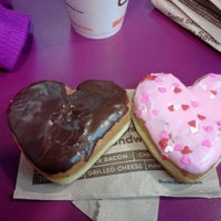 Photo taken at Dunkin Donuts by Kellie B. on 2/10/2013