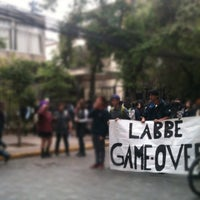 Photo taken at Liceo 7 Providencia by Pablo R. on 11/16/2012