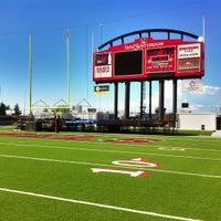 Photo taken at Sam Boyd Stadium by Doug D. on 9/3/2013