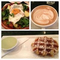 Photo taken at Medina Café by Jen H. on 2/17/2013