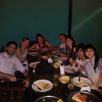 Photo taken at Pizza Hot Alsina by Pablo Alejandro C. on 12/5/2012