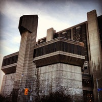 Photo taken at Robarts Library by Jason P. on 5/3/2013