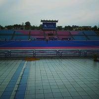 Photo taken at Stadium Hoki Nasional by Hasren A. on 8/11/2016
