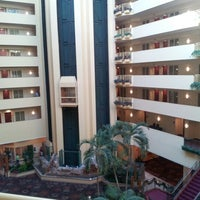 Photo taken at Embassy Suites by Hilton Tampa USF Near Busch Gardens by Edward H. on 11/25/2012