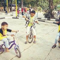 Photo taken at Taman Lalu Lintas by Novri Y. on 9/27/2015